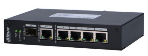Switch PoE 4x100Mb/s, Ethernet 1x100Mb/s, DAHUA